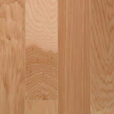 Hickory Natural High Gloss 3/8 in. Thick x 3 in. Wide x Random Length Engineered Hardwood Flooring (29.5 sq. ft. / case)
