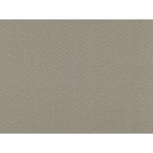 Karma Brown Herringhone Weave Brown Wallpaper Sample
