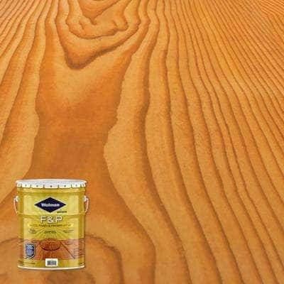5 gal. F&P Cedar Exterior Wood Stain Finish and Preservative