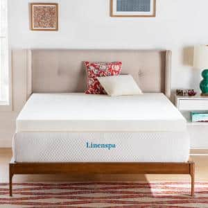 4 in. Full ActiveRelief Memory Foam Mattress Topper