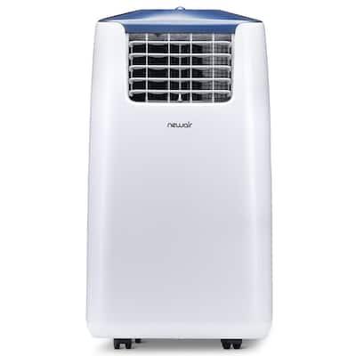 14,000 BTU (8,600 BTU, DOE) Portable Air Conditioner Cover 525 sq. ft. with Easy Setup Window Venting Kit - White