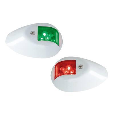 LED Side Lights with White Polymer Base