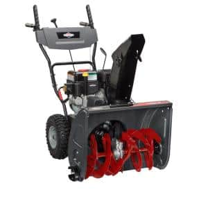 24 in. Two-Stage Electric Start Gas Snowthrower