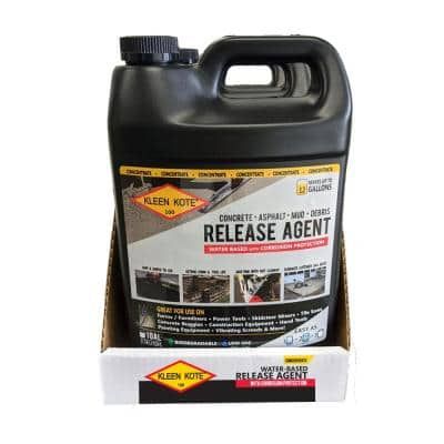 1 Gal. Water Based Industrial Concrete Release and Anti-Corrosion Coating Concentrate (4-Pack)