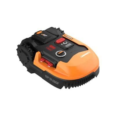 Power Share 20-Volt 7 in. 4.0 Ah Robotic Landroid Mower, Brushless Wheel Motors, Wifi Plus Phone App, 1/4 acre