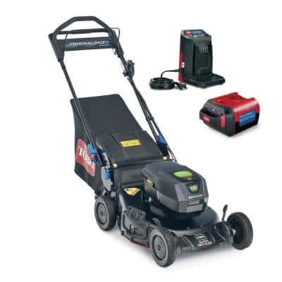 Super Recycler 21 in. 60-Volt SmartStow Max Cordless Battery Walk Behind Mower- 7.5 Ah Battery/Charger Included