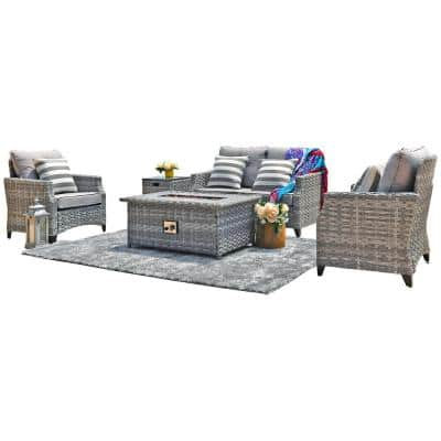 Fire Pit Patio Sets Outdoor Lounge, Garden Furniture With Fire Pit Table