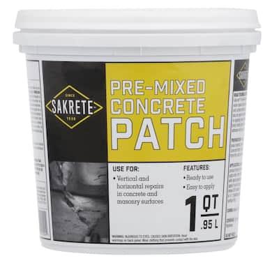 1 Qt. Pre-Mixed Concrete Repair Patch