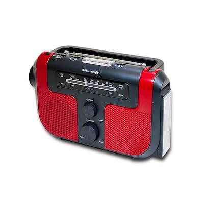 AM/FM/Weather Radio with Flashlight