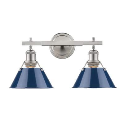Blue Coastal Vanity Lighting Lighting The Home Depot