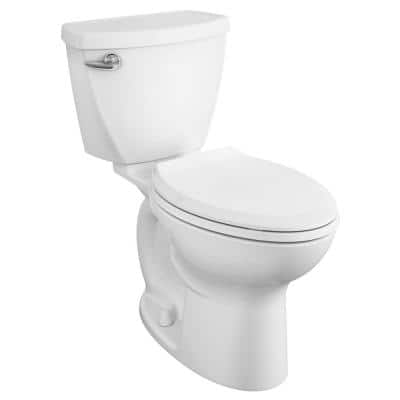 Cadet 3 FloWise Tall Height 2-Piece 1.28 GPF Single Flush Elongated Toilet in White with Slow Close Seat