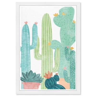 Cactus All Around' Framed Nature Art Print 19 in. x 13 in.