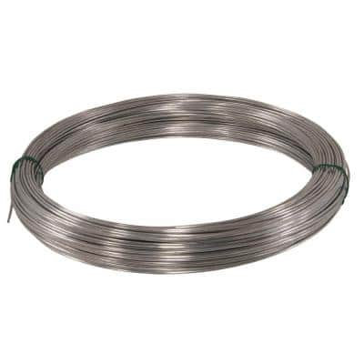 100 ft. 150 lb. 12-Gauge Galvanized Wire