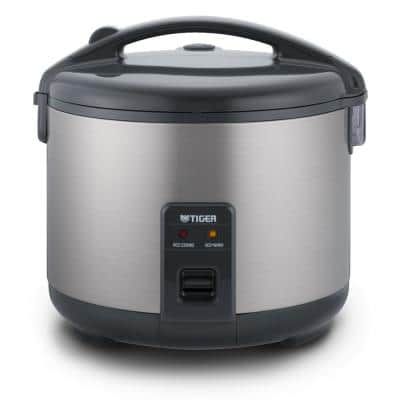 JNP-S, 10-Cup Stainless Steel Rice Cooker and Warmer