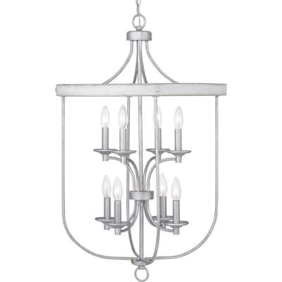 Gulliver 8-Light Galvanized Pendant