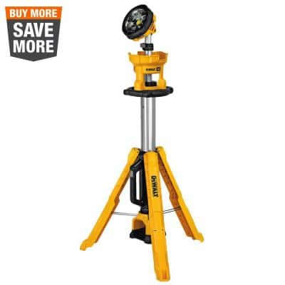 20-Volt MAX 3000-Lumen Tripod Light