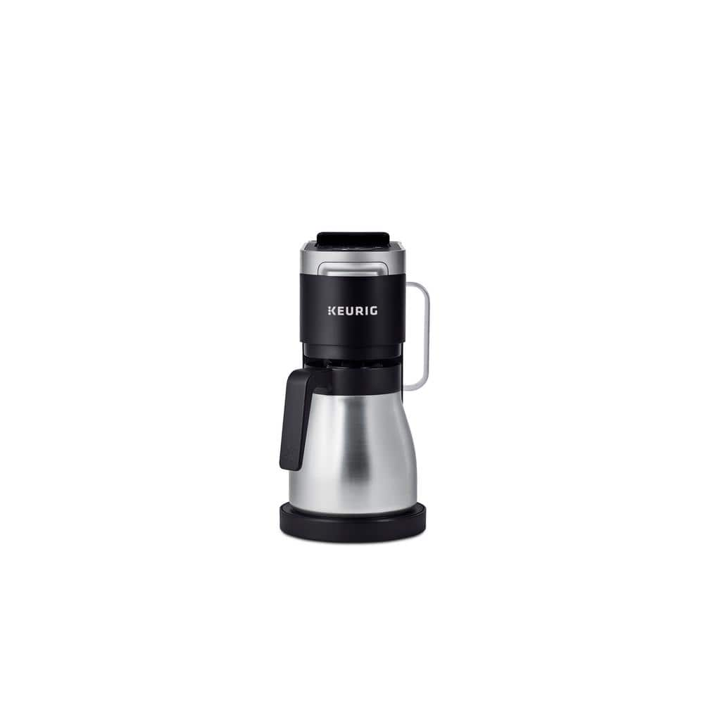 Keurig K Duo Plus 12-Cup Black Matte Single Serve and Carafe Coffee Maker-5000204978 - The Home Depot