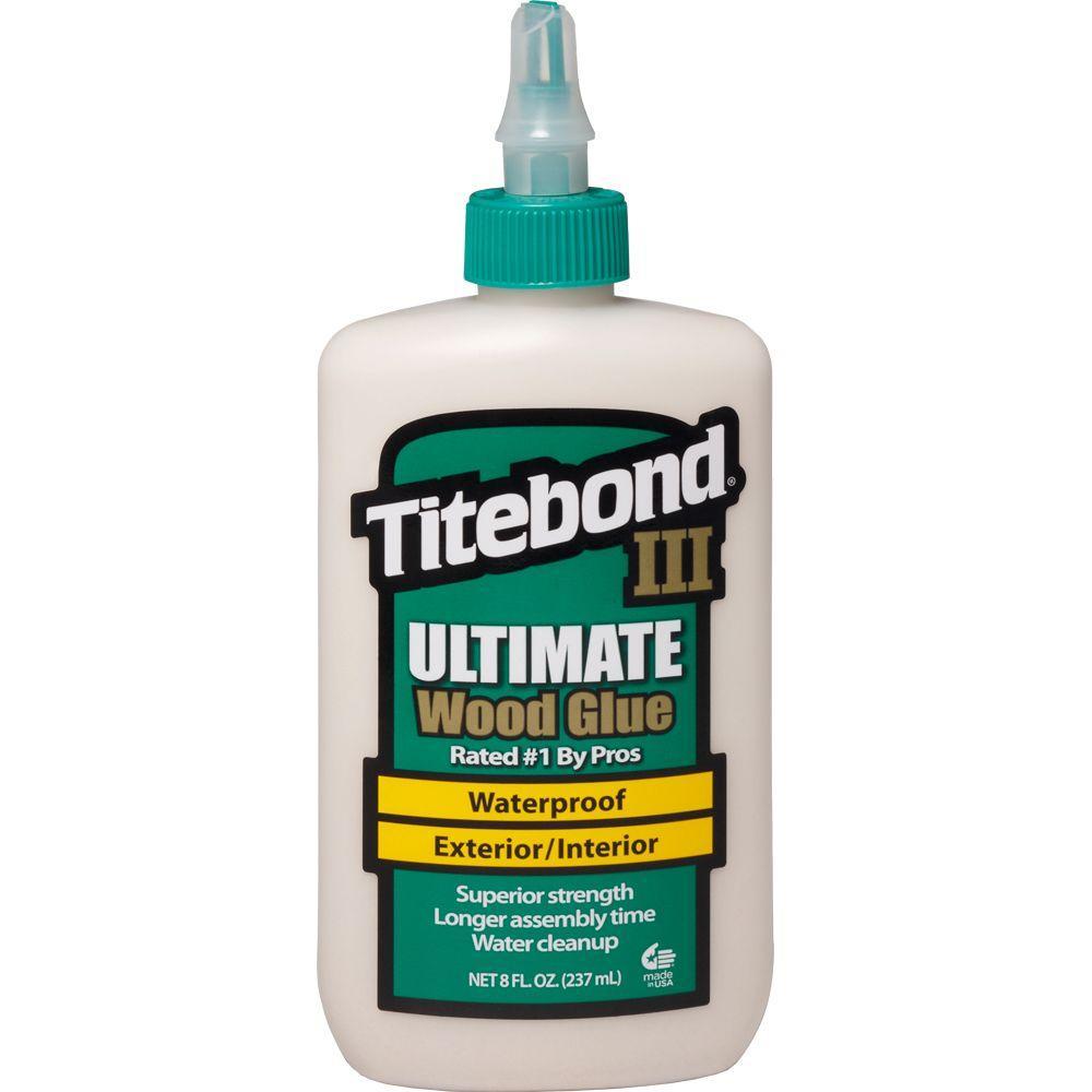 8 oz. Titebond III Ultimate Wood Glue (12-Pack)