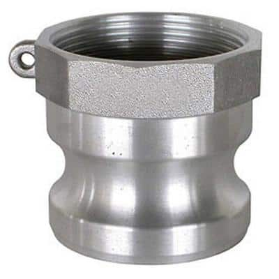 2 in. Part A Aluminum Male Adapter for Lay Flat, Discharge, Backwash and Suction Hoses