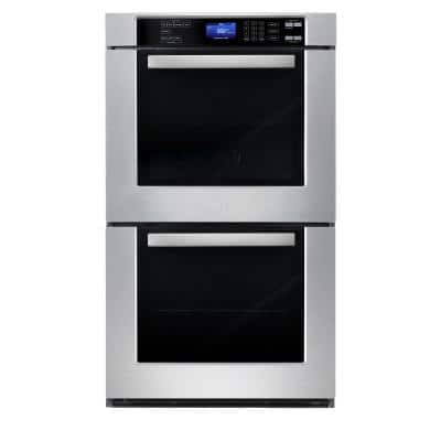 30 in. Double Electric Wall Oven With Convection and Self-Cleaning in Stainless Steel