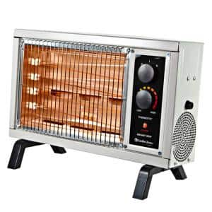 5120 BTU Deluxe Electric Radiant Heater