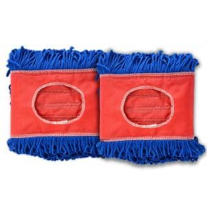 24 in. Microfiber Dust Dry Mop Replacement Head (2-Pack)