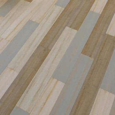 Laona 7 mm T x 5.12 in. W x 36.22 in. L Waterproof Engineered Click Bamboo Flooring (15.45 sq. ft./case)