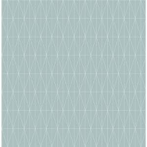 Albany, Tofta Light Blue Geometric Paper Strippable Wallpaper Roll (Covers 56.4 sq. ft.)
