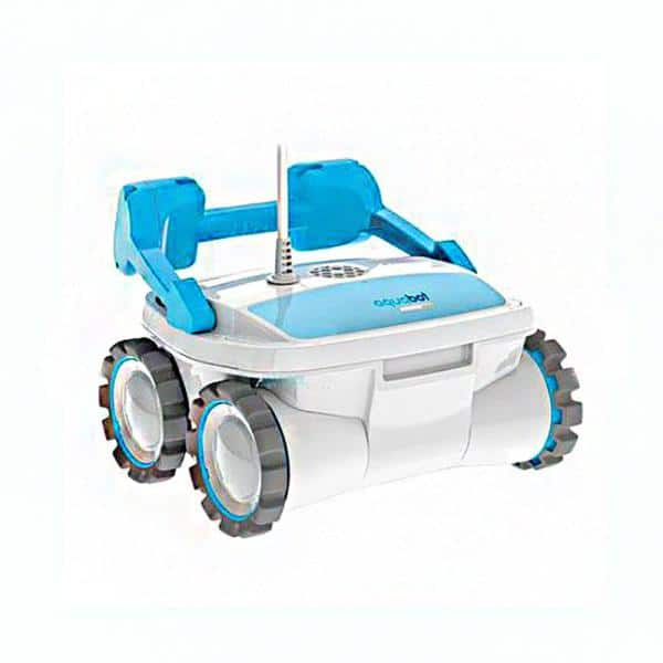Aquabot Aquabot Breeze 4wd In Ground Automatic Robotic Swimming Pool Vacuum Cleaner Abreez4wd The Home Depot