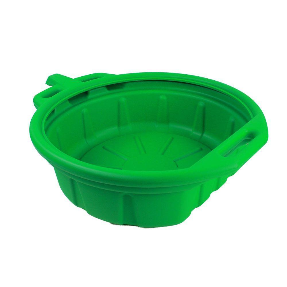 4.5 Gal. Green Portable Anti-Freeze Oil Drain Pan