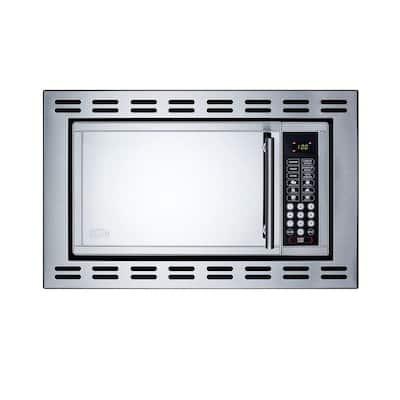 0.9 cu. ft. Built-In Microwave in Stainless Steel