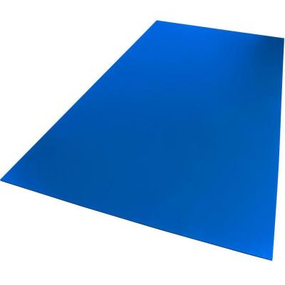 18 in. x 24 in. x 0.236 in. Foam PVC Blue Sheet