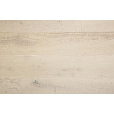 Euro White Oak Ire Mist 1/2 in. T x 7.5 in. W x Varying Length Engineered Hardwood Flooring (31.09 sq. ft./case)