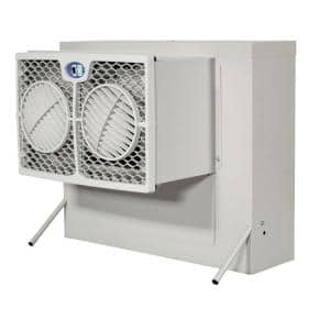 2800 CFM 2-Speed Front Discharge Window Evaporative Cooler for 400 sq. ft. (with Motor)