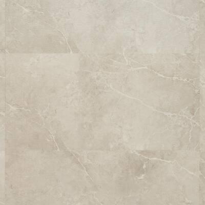 Duren 28mil Marbello Beige 18 in. W x 36 in. L Glue Down Luxury Vinyl Tile Flooring (36 sq. ft.)