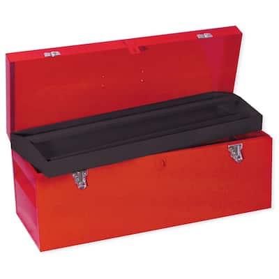 Heavy Duty Metal Tool Box- 24 in. X 9 in. X 9 in.