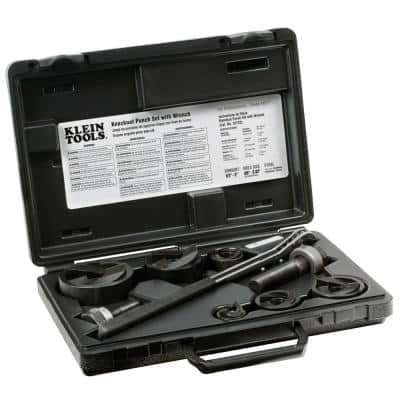 9-Piece Knockout Punch with Wrench Set