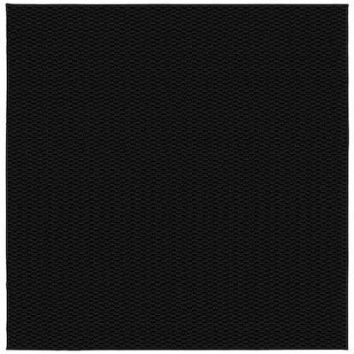 Medallion Black 12 ft. x 12 ft. Square Area Rug