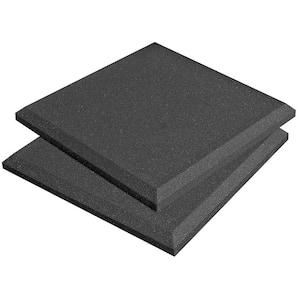 SonoFlat Panels - 1 ft. W x 1 ft. L x 2 in. H - Charcoal (14-Box)