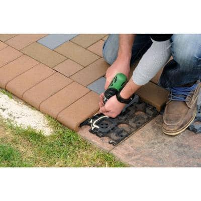 4 in. x 8 in. Redwood Resurfacing Bullnose Composite Pavers (36 Pavers)