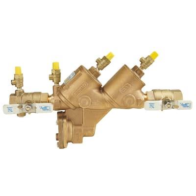 1 in. Lead Free Bronze FIP Reduced Pressure Backflow Preventer