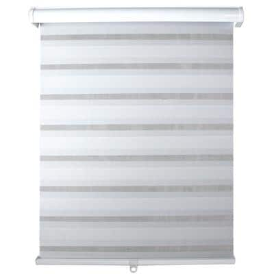Light Filtering White 48 in. x 72 in. Cordless Sheer Shade