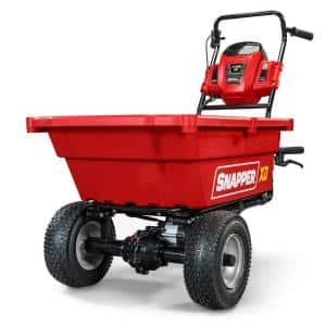 XD 82-Volt MAX Cordless Electric Self-Propelled Utility Cart with 3.7 cu. ft. Cargo Bed, Battery & Charger Not Included