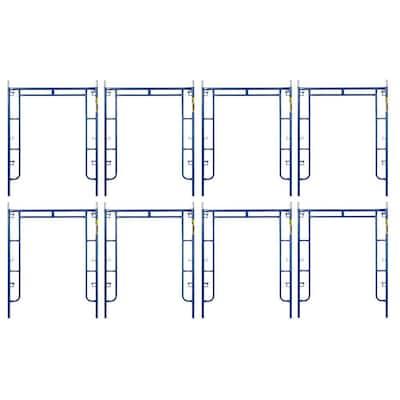 Saferstack 6.4 ft. x 5 ft. Mason Walk-Through Arch Scaffold Frame (8-Pack)