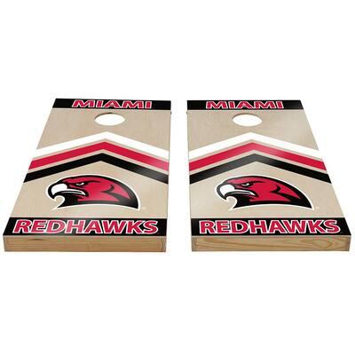 Miami of Ohio RedHawks Cornhole Set