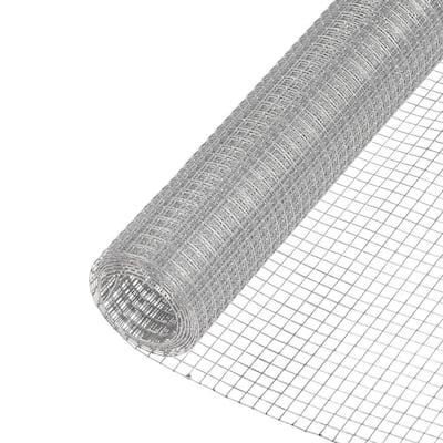 1/2 in. x 2 ft. x 5 ft. 19-Gauge Galvanized Steel Hardware Cloth