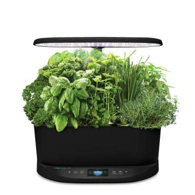 Bounty Black - In Home Garden with Gourmet Herb Seed Pod Kit (Alexa Enabled)