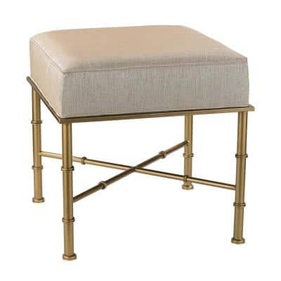 Cream and Gold Bench