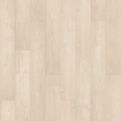 Defense+ 7.48 in. W Winter Mist Pine Antimicrobial Waterproof Laminate Wood Flooring (1079.65 sq. ft./pallet)
