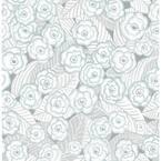 Oopsie Daisy Grey Grey Wallpaper Sample